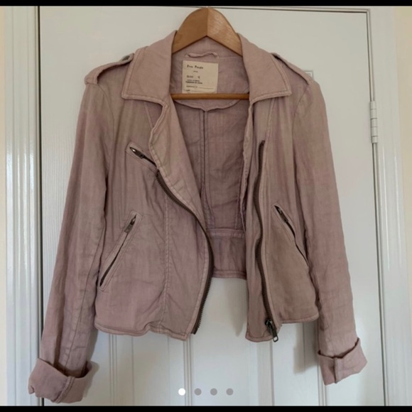 Free People Linen Jacket